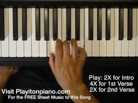 Piano piano tabs to stay by rihanna : Detail for How to play Stay by Riha