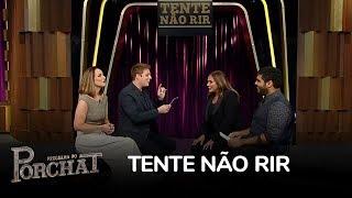 Fábio Porchat testa Mariana e Fafá de Belém no Tente Não Rir
