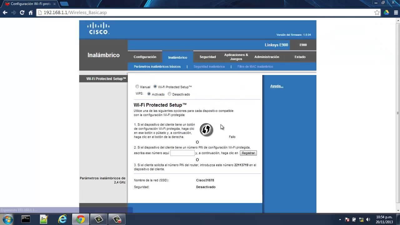 aprende a configurar un router linksys cisco de manera correcta rh youtube com Factory Reset Linksys WRT120N Factory Reset Linksys WRT120N