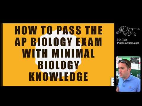 Pass the AP Biology Exam with Minimal Biology Knowledge