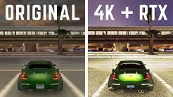 Need For Speed Underground 2 - Remastered & Ray Traced!