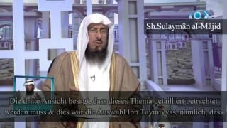 Sh. Sulayman al-Majid | Das alleinige Beten hinter der letzten Reihe