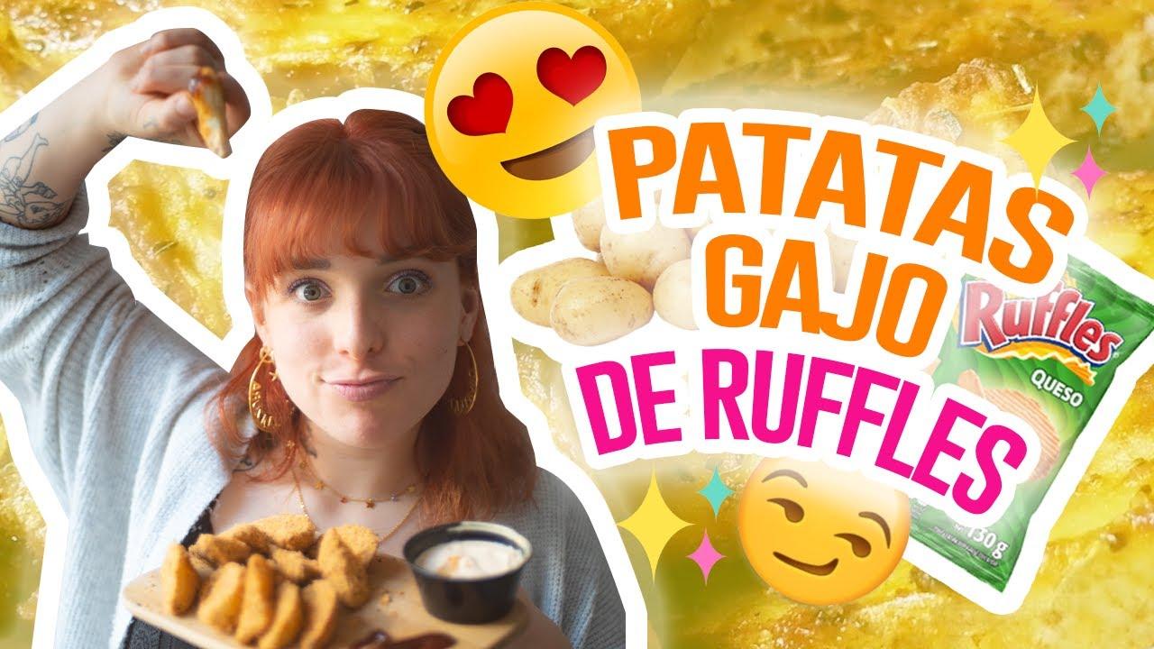 PATATAS GAJO DE RUFFLES Y PARMESANO ¡EN 15 MINUTOS!