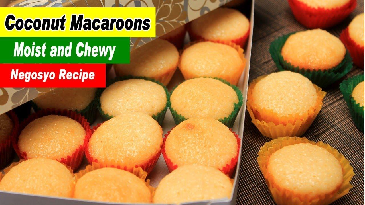 Coconut Macaroons Recipe Filipino Macaroons Youtube