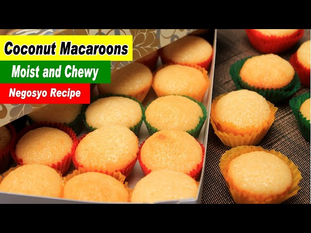 Coconut Macaroons Recipe Filipino Macaroons Youtube