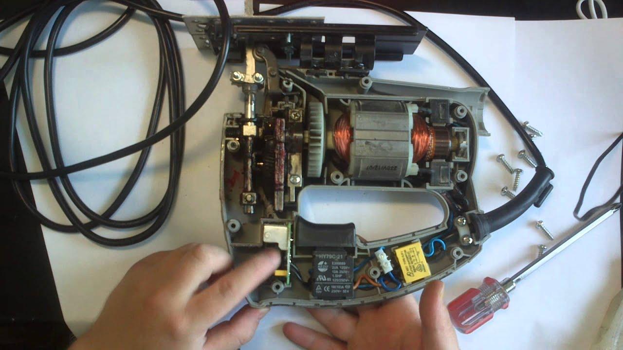 Инструкция по работе с электролобзиком