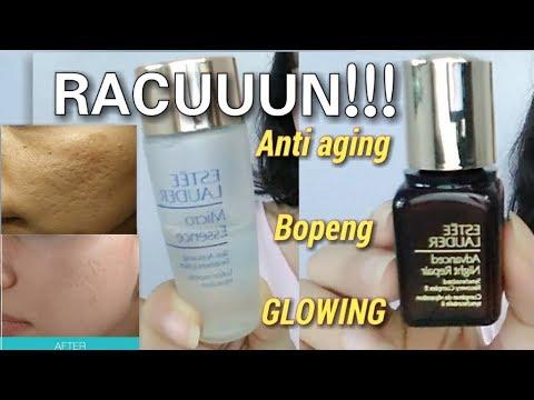 Skincare Bikin GLOWING & Meratakan BOPENG [ESTEE LAUDER MICRO ESSENCE & ADVENCED NIGHT REPAIR]