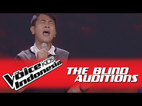 """Kenny """"Lay Me Down"""" I The Blind Auditions I The Voice Kids Indonesia GlobalTV 2016"""
