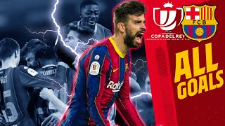 ⚽⚽ALL GOALS that got Barça to the FINAL of the Copa del Rey 2020/21🔵🔴 🔥🔥