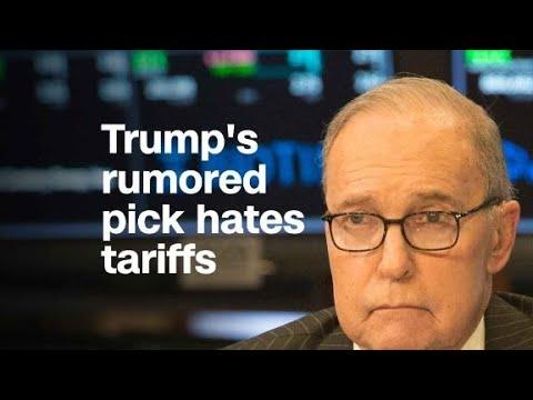 Trump's possible new top economic adviser hates tariffs