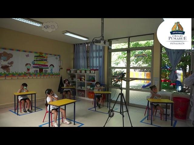 ¡Bienvenidos alumnos de Kínder! Pumahue Peñalolén