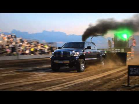 Dodge Ram Powers the Tractor Pull