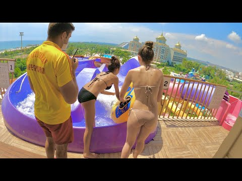 Delphin BE Grand Resort in Antalya | Water Slides & The Lazy River