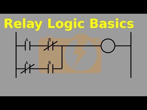 Relay Logic Part 1 The Basics YouTube