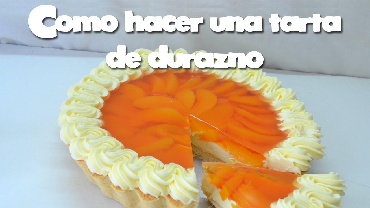 Como hacer una tarta de durazno youtube - Como hacer una claraboya ...