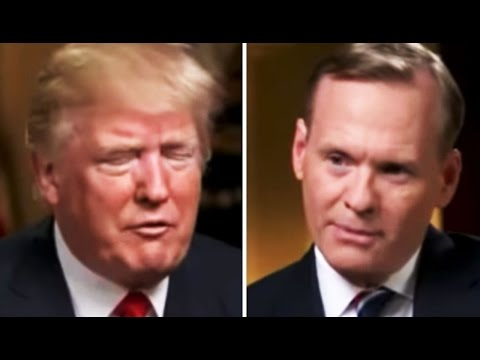 Trump Has a Meltdown, Ends Interview When Asked Why He's Still Taking About Obama Wiretapping Him