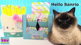 Kidrobot X Hello Sanrio Plush Burger Charms Blind Box Opening   PSToyReviews