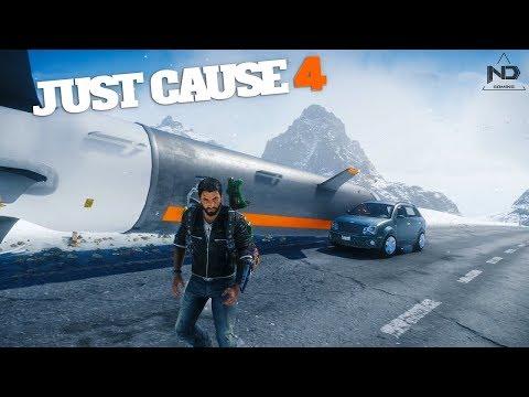 Just Cause 4 #97 - Thử Thách Thả Tên Lửa Hạt Nhân Từ Đỉnh Núi Cao Nhất