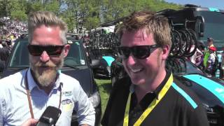 dave s shoddy interview with brian holm and rod ellingworth at the tour de france 2013