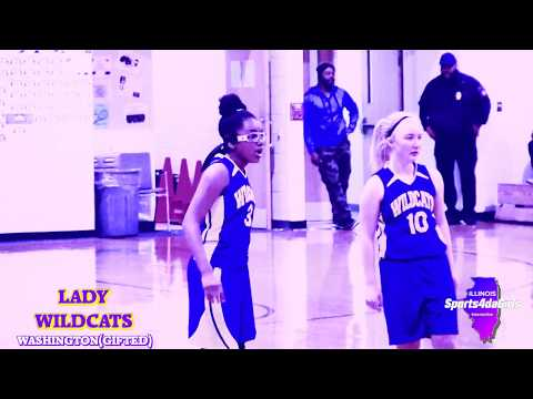 [ Sports4daGirls ] Washington Lady Wildcats Basketball (V-Middle)