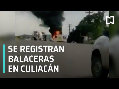 Balaceras en Culiacán,