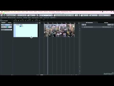 Cubase 8 108: Score to Picture - 2. Understanding Video Tracks
