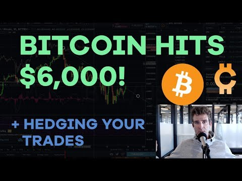 Bitcoin Hits $6,000! Protecting Your Altcoin Trades, Goldman Sachs, Tax Reform - CMTV Ep68