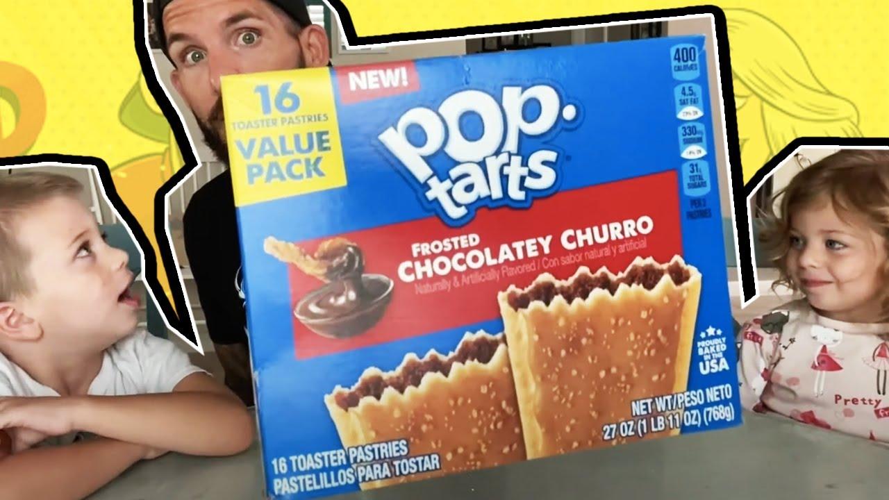 Fun Size Review: Chocolatey Churro Pop-Tarts!
