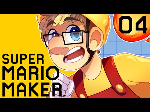 Super Mario Maker Gameplay Part 4 - 100 Mario Challenge