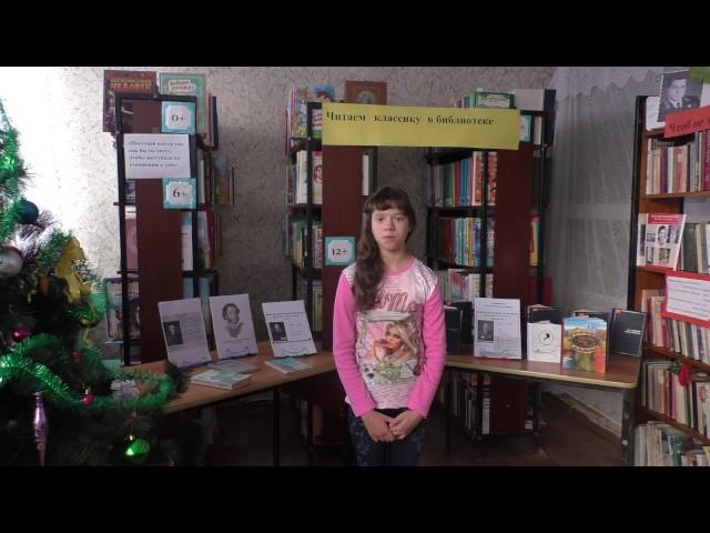 Изображение предпросмотра прочтения – ЕкатеринаБурдыкина читает произведение «Узник» А.С.Пушкина