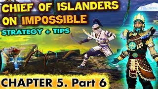 Shadow Fight 3. How To Defeat Chief of The Islanders on Impossible. The HARDEST Boss in Chapter 5.
