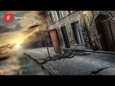 Life's Path - Adobe Photoshop CC Time Lapse