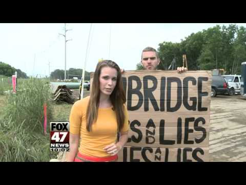 12 Protesters Arrested at Enbridge Inc. Construction Site