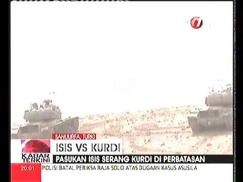 Perang ISIS VS Kurdi Tewaskan 500 Orang