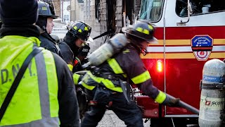 [ Queens 4th Alarm Box 4763 ] Fire Rips Throughout 3 Private Dwellings