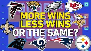 Predicting Records for Last Years Playoff Teams | NFL Network
