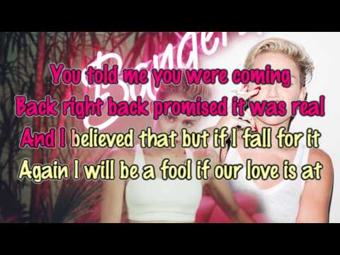 Miley Cyrus - Drive [Karaoke / Instrumental]