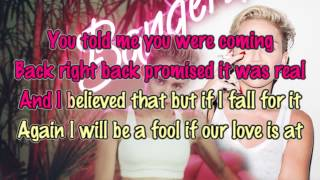 Repeat youtube video Miley Cyrus - Drive [Karaoke / Instrumental]