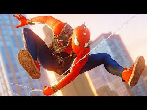 СЕКРЕТЫ МИСТЕРА ЛИ Володя костюм паук панк в Человек Паук на PS4 Прохождение Marvel's Spider Man ПС4