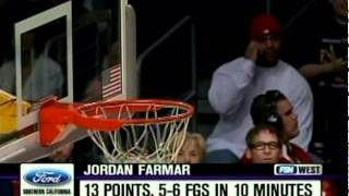 02 26 2008   blazers vs  lakers   jordan farmar highlights