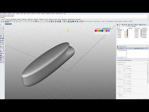 Rhino 6 Subdivision Toolbar