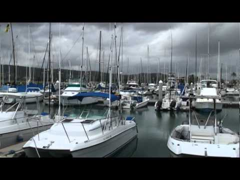 Boats at the Marina in  Oahu Hawaii Ko Olina Resort