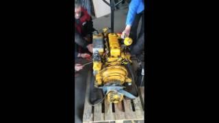 Le moteur PERKINS de l'UARA