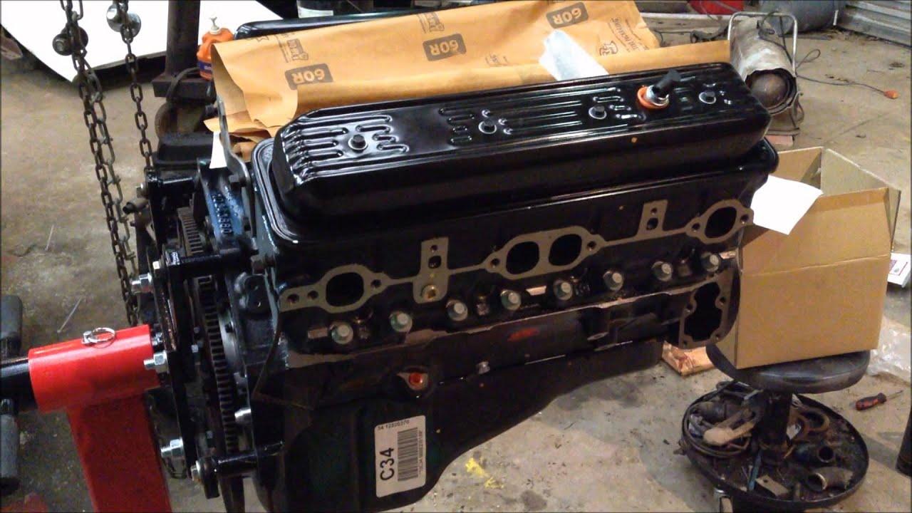 Chevy 350 Engine Mounts 1993 Chevy Cheyenne 2500 Pickup 350 Engine swap Part 1 ...