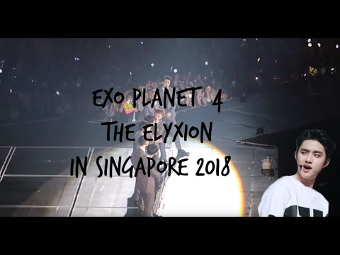 EXO PLANET #4 – The EℓyXiOn–in SINGAPORE 2018