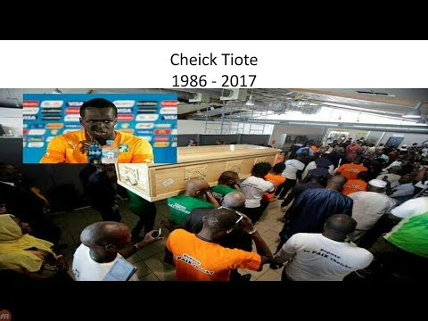 Cheick Tiote's Body Arrives Back In Ivory Coast As Stars Gather To Bid Farewell