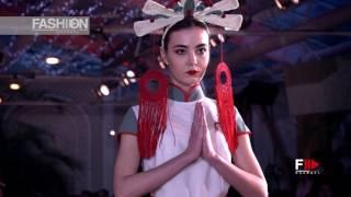 VICTORIA SYROMLIA Odessa Fashion Week Fall Winter 2017 18   Fashion Channel