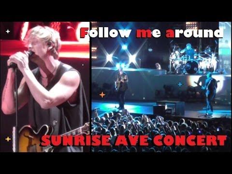 Follow me around - Sunrise Avenue Konzert Zürich 12.02.14