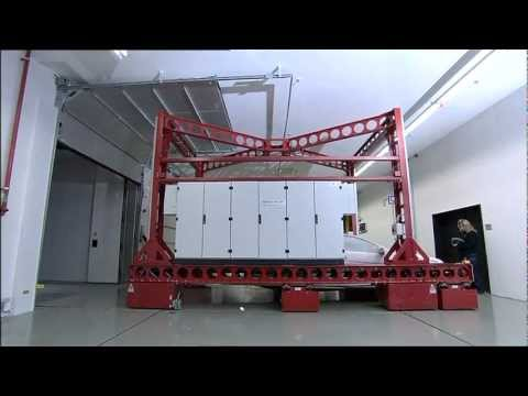 Mercedes Benz new climate and wind tunnel Sindelfingen 2011 Conditioning chamber