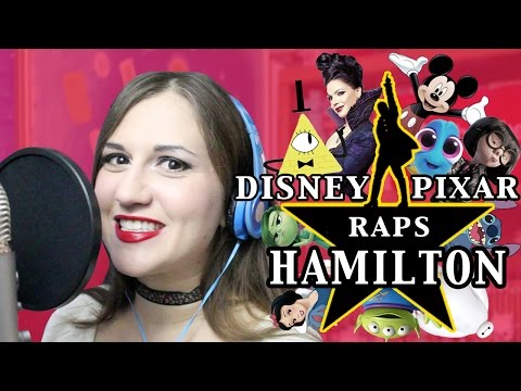 Disney Pixar Impressions Raps HAMILTON Musical - Madi2theMax
